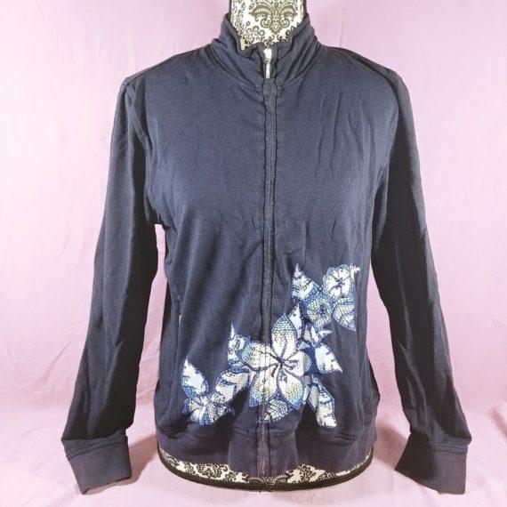 chicos-zenergy-floral-zip-up-sweater-sweatshirt-size-1