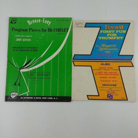 childrens-music-sheets-trumpet-and-cornet-program-pieces-solo-duet-lot-03
