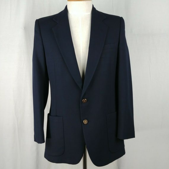christian-st-john-pierre-cardin-blue-suit-jacket-coat-mens-size-40-with-pocket