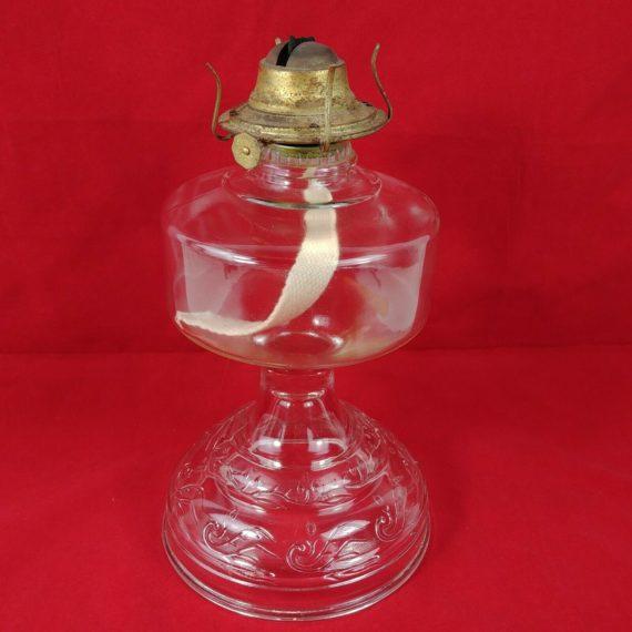 clear-glass-oil-lamp-no-1-thomaston-eagle-burner-11-tall-6-1-4-base-lot-4