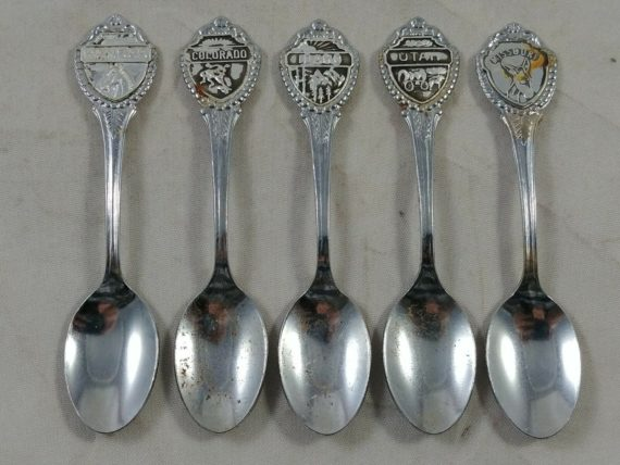 collector-spoon-lot-of-5-state-kansas-utah-missouri-colorado-missouri-idaho