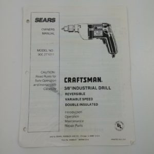 craftsman-3-8-industrial-drill-reversible-model-no-900-271011-owners-manual