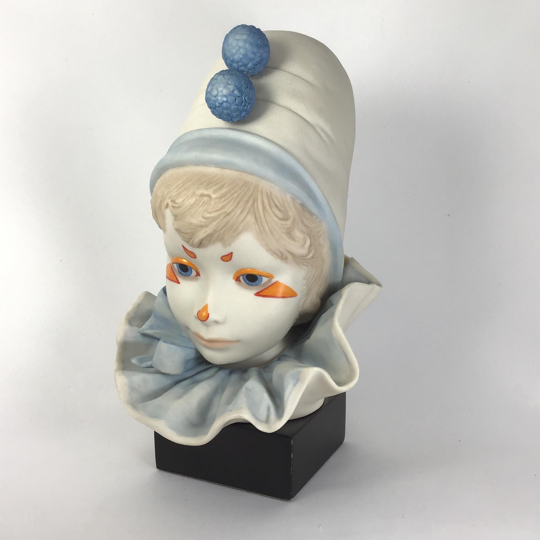 cybis-funny-face-child-circus-clown-vintage-porcelain-bust