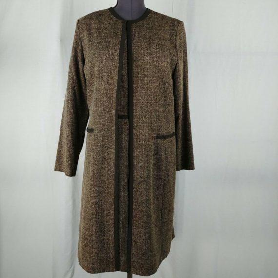 danny-nicole-brown-sleeveless-dress-matching-long-sleeve-jacket