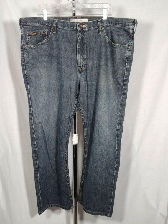 dark-wash-mens-lee-blue-jeans-regular-straight-leg-42w-29l-100-cotton