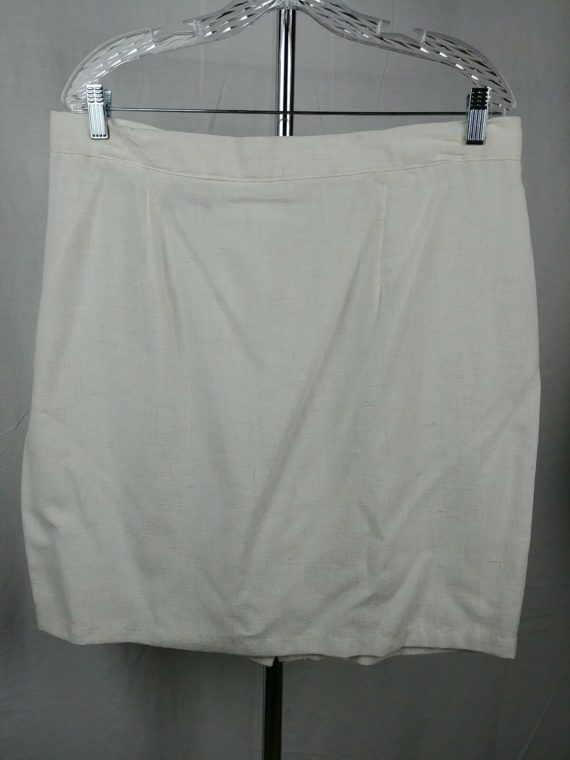 diana-marco-white-cream-short-vintage-skirt-womens-size-18
