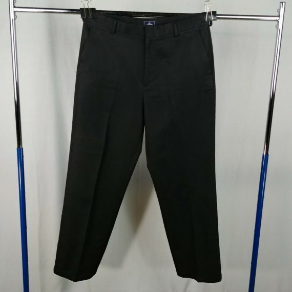 dockers-black-flat-front-casual-pants-mens-size-33-x-32-straight-leg