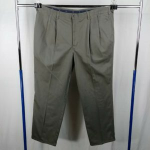 dockers-casual-pants-mens-size-43-x-34-100-cotton-pleated-front