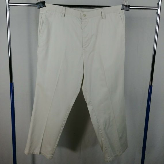 dockers-individual-fit-cream-casual-flat-front-casual-pants-mens-size-40-x-30
