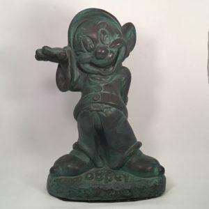 dopey-855-verde-patina-resin-garden-statue-walt-disney-snow-white
