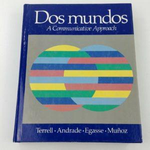 dos-mundos-textbook-a-communicative-approach-1st-edition-1986-hc-spanish