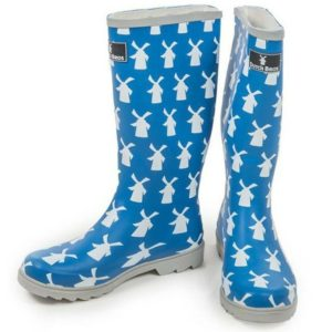 dutch-bros-coffee-womens-windmill-blue-rain-boots-size-5