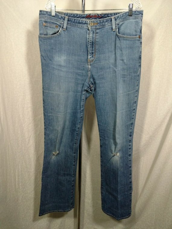 eddie-bauer-distressed-jeans-womens-size-14-cotton-medium-blue-natural-fit