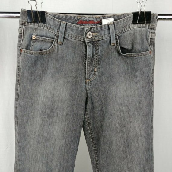 eddie-bauer-faded-jeans-flare-leg-low-rise-womens-size-4-r