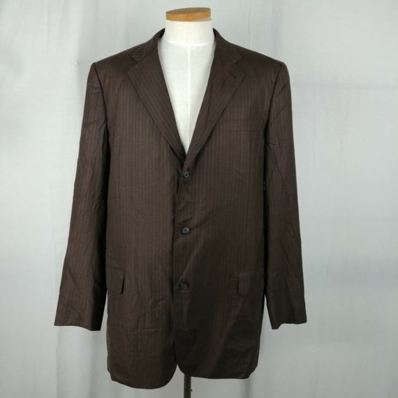 elevee-custom-tailored-robert-swift-brown-pinstripe-suit-coat-mens-size-48t