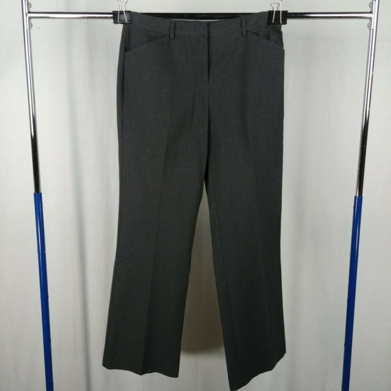 express-design-studio-black-pinstripe-bootcut-dress-pants-womens-size-6-long