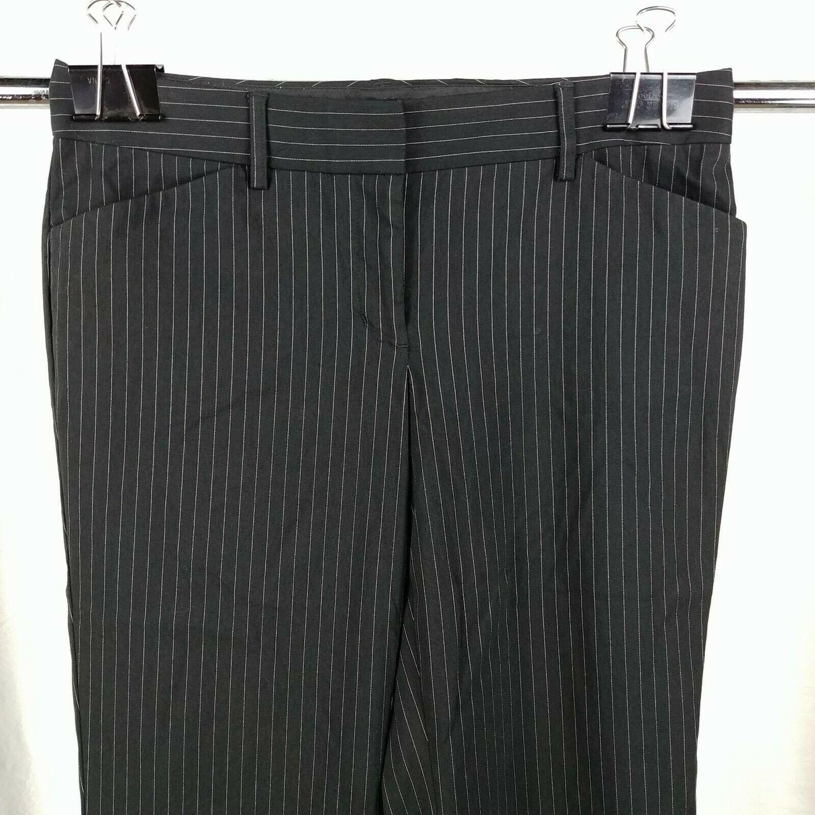 238e1cf7cd7fd Black Pinstripe Dress Pants – DACC