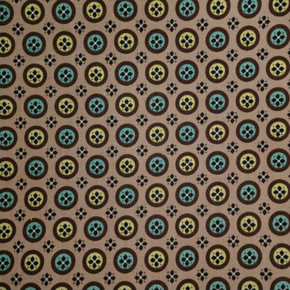 fabric-2-5-yards-mid-century-mod-starburst-pattern