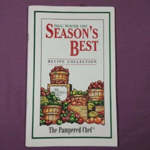 fall-winter-1997-seasonss-best-recipes-vtg-cookbook-booklet-pampered-chef