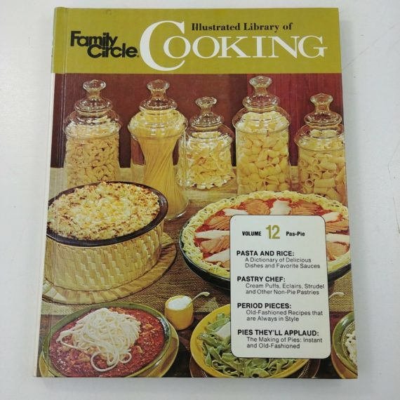 family-circle-illustrated-library-of-cooking-vol-12-pas-pie-1972-hc