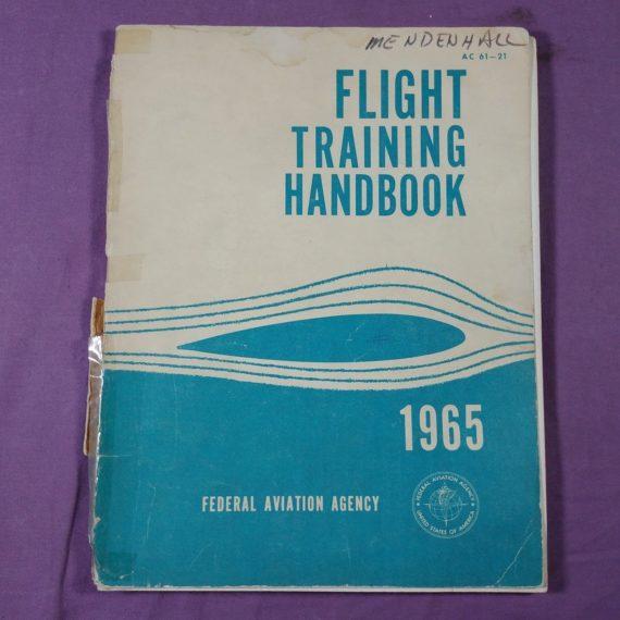 flight-training-handbook-federal-aviation-agency-faa-vintage-pamphlet-1965