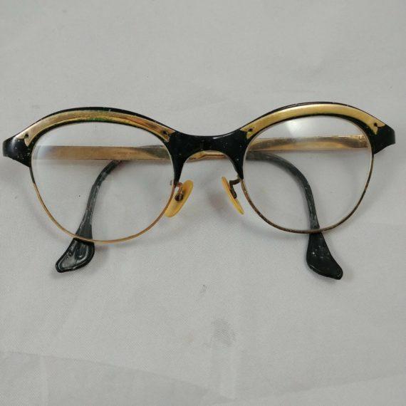 gaspari-rimless-cat-eye-gold-trim-eyeglass-prescription-costume-sexy-cool-4