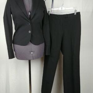 geoffrey-beene-sport-black-suit-jacket-blazer-dress-pants-slacks-womens-6