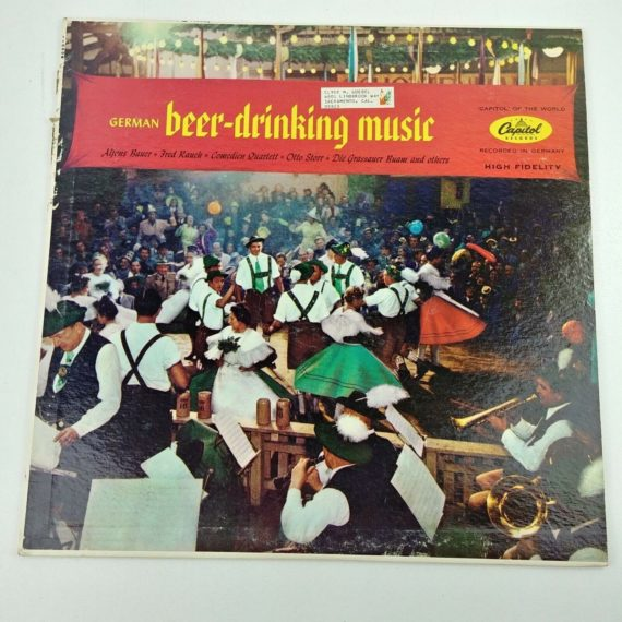 german-beer-drinking-music-munich-hofbrauhaus-capital-record-lp-vinyl-12