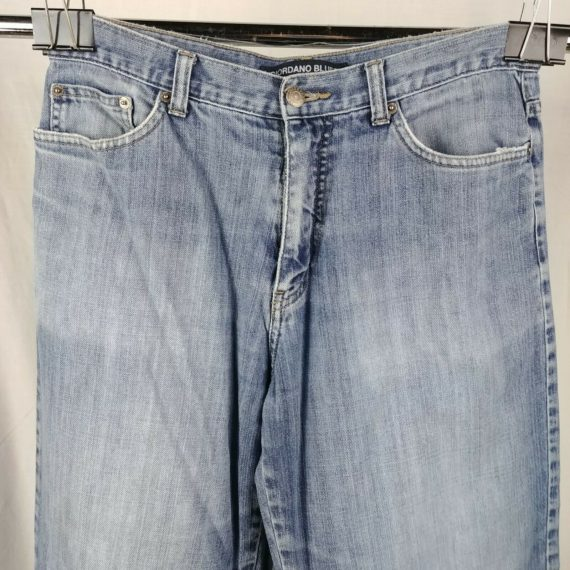 giordano-blues-relaxed-fit-blue-jeans-mens-size-32-x-29-distressed