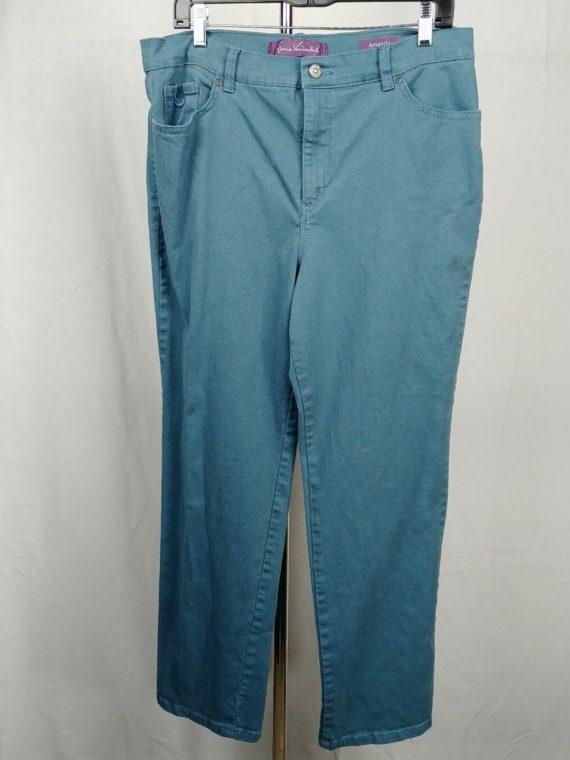 gloria-vanderbilt-jeans-blue-pants-amanda-womens-size-14