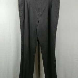 great-northwest-gray-casual-100-cotton-pants-mens-size-3834