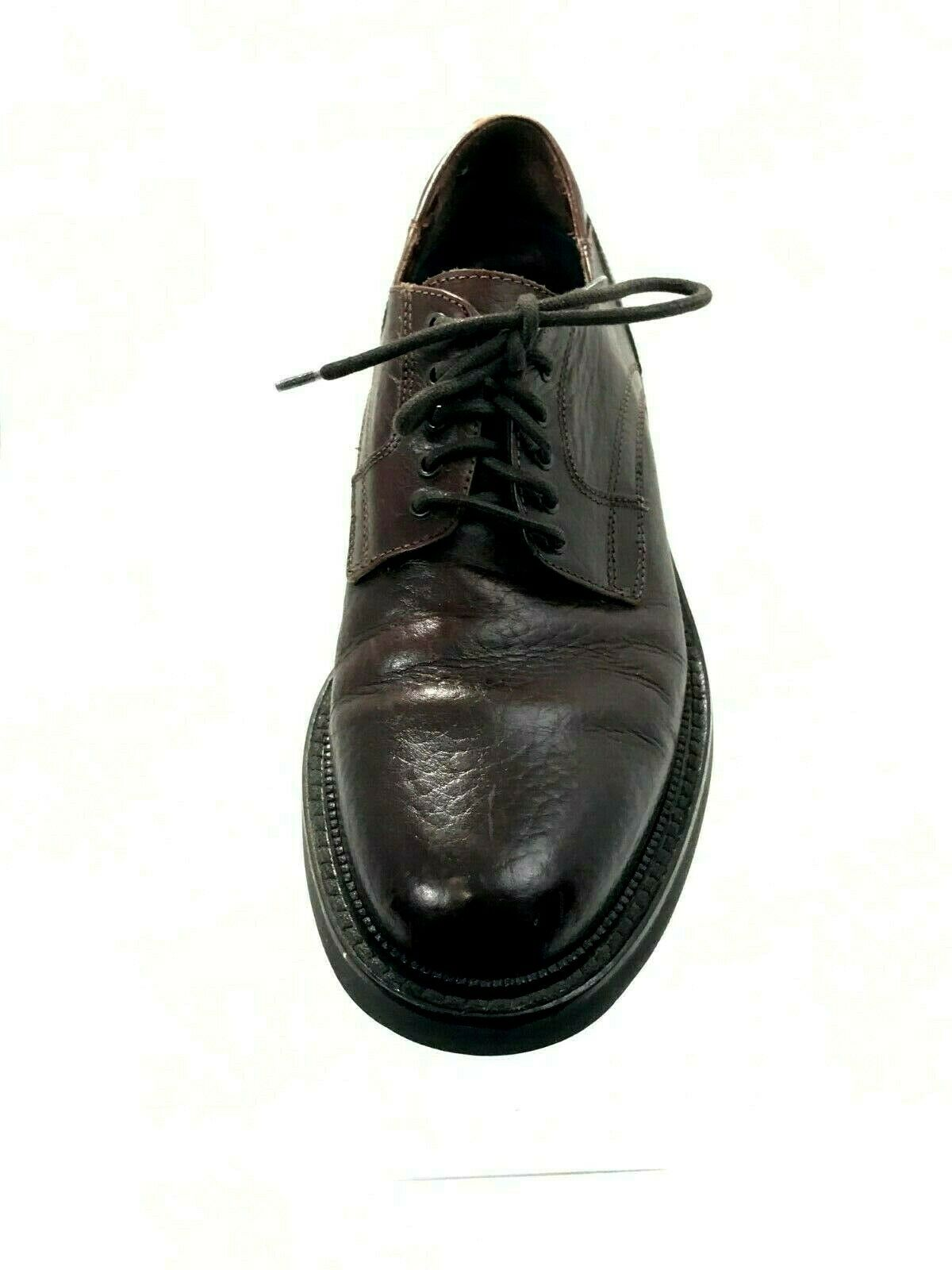 f4c97ffc0 H.S. Trask   Co Men s 9.5 M Brown Leather Oxford Shoes Made in Italy 1200-7