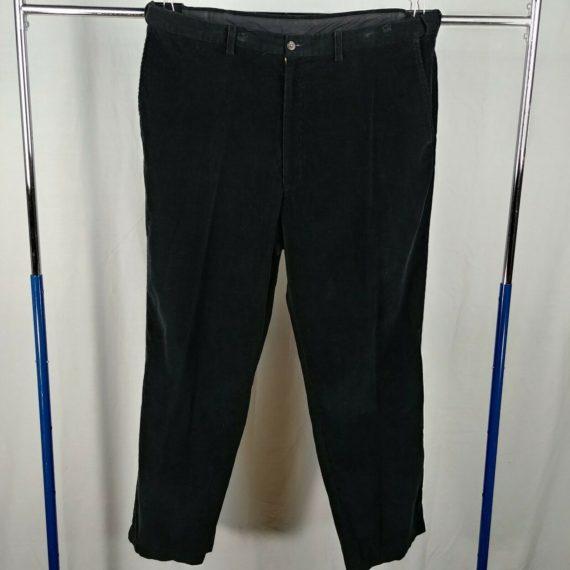 haggar-black-corduroy-casual-pants-mens-size-40-x-32-100-cotton