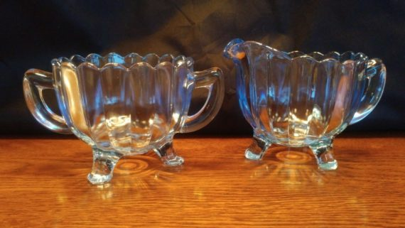 imperial-glass-sugar-bowl-dish-milk-creamer-set-blue-colored-glass