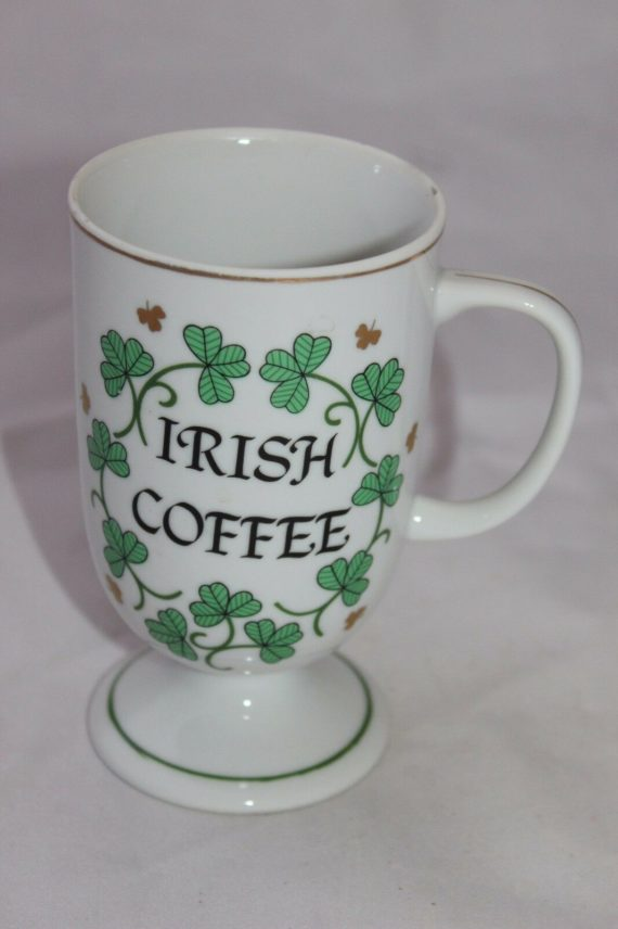 irish-coffee-recipe-coffee-mug-green-clovers-luck
