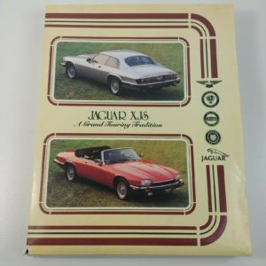 jaguar-xjs-grand-touring-tradition-vhs-info-booklets-car-pictures-advertising