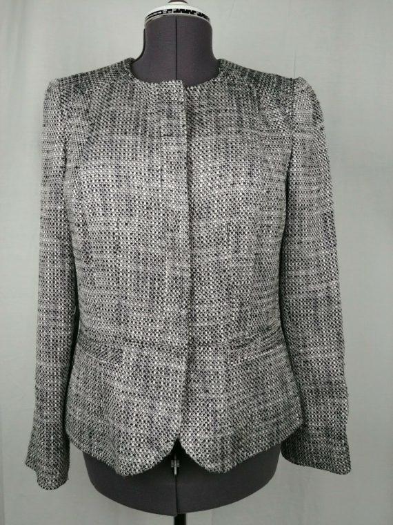 jones-new-york-black-white-long-sleeve-career-jacket-womens-size-12