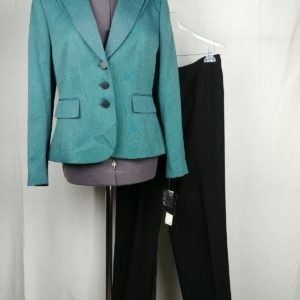 jones-wear-jade-black-2-piece-womens-suit-size-12-nwt-pants-size-10