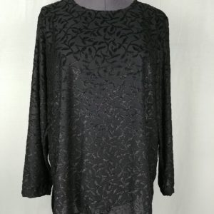 kathie-lee-black-floral-sparkle-3-4-sleeve-blouse-womens-plus-size-24