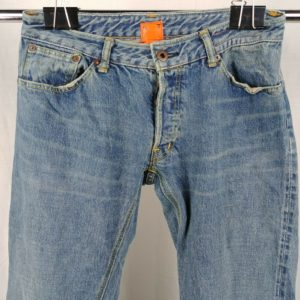 kato-button-fly-light-wash-straight-slim-jeans-mens-size-30-x-32