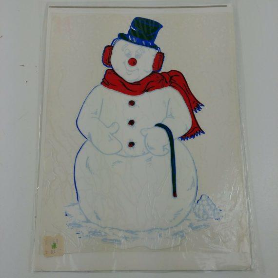 limpy-klings-snowman-3200-window-sticker-cling-1973-christmas-decoration-108