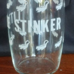 little-stinker-glass-cup-skunk-funny