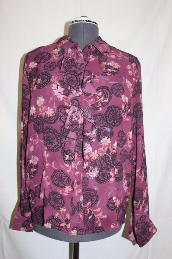 liz-baker-purple-paisley-floral-long-sleeve-button-down-blouse-womens-size-16