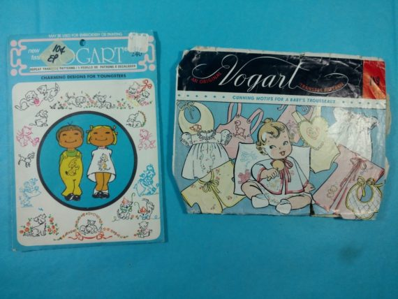 lot-148-group-of-2-vintage-sewing-patterns-vogart-embroidery-patterns