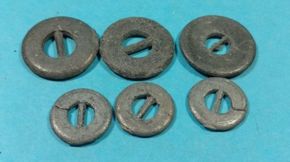 lot-30-of-vintage-buttons-from-estate-metal-belt-buckle-shaped-buttons