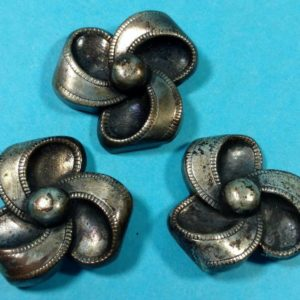 lot-43-of-vintage-buttons-from-estate-three-metal-ribbon-shaped-buttons