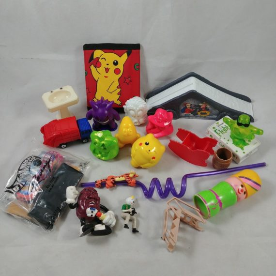 lot-5-mixed-lot-of-19-toys-grab-bag-misc-pikachu-pokemon-truck-tigger-straw