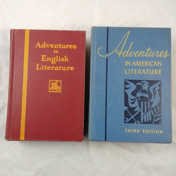 lot-of-2-adventures-in-english-american-literature-essays-poetry-hc