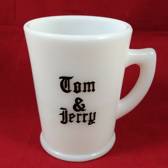 mckee-tom-and-jerry-punch-mug-milk-glass-replacement-cup-black-lettering-15b