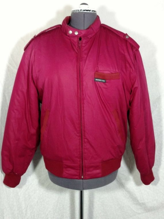 members-only-size-38-mens-bomber-jacket-vintage-red